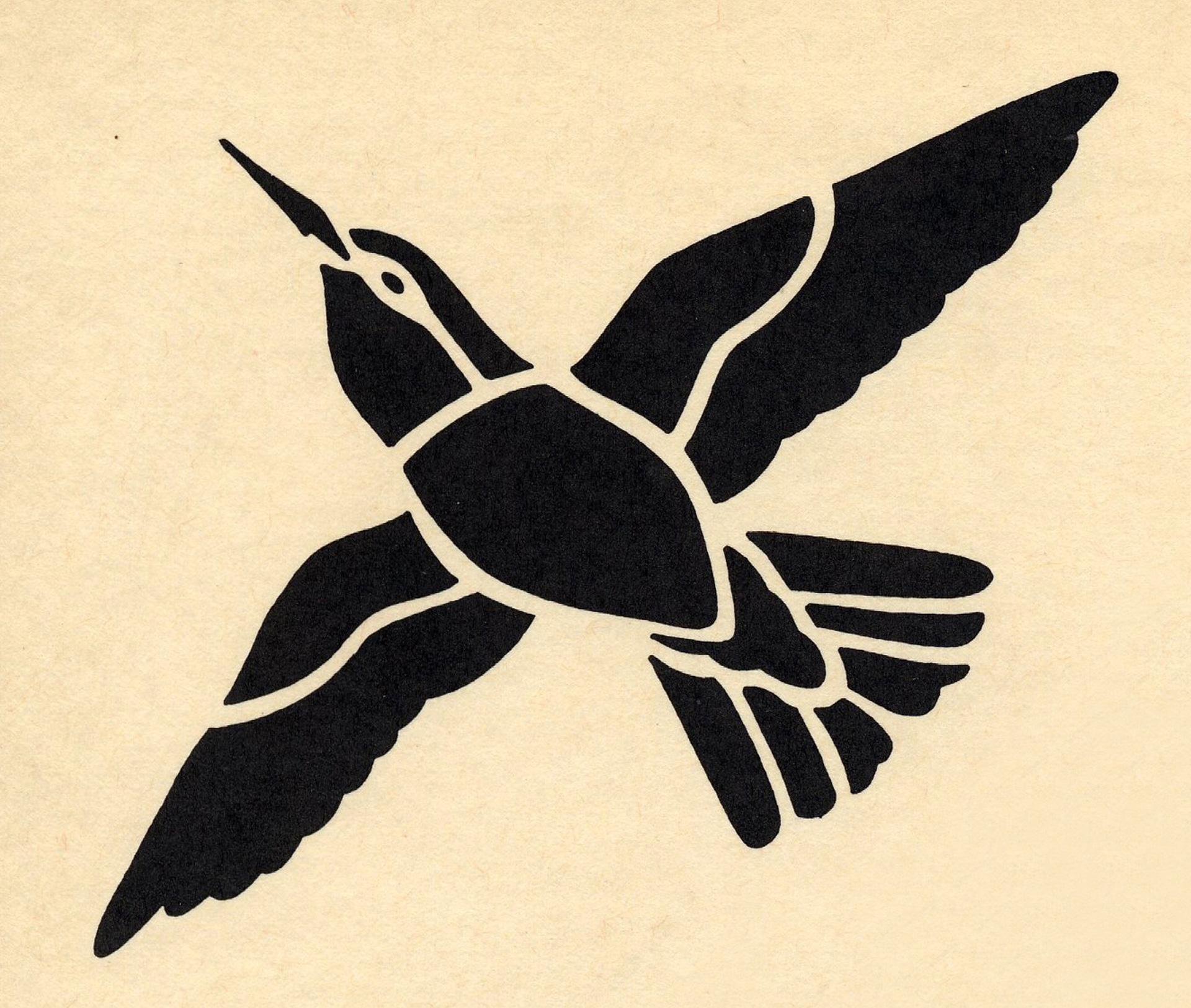 Galerie des pochoirs oiseaux loisirs creatifs de f1adc for Pochoir oiseau